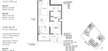1-bedroom-study-type-as1-527sqft-floor-plan-the-m-condo
