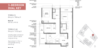 The-M-3-Bedroom-DK-Floor-Plan